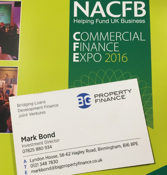 BiG Property Finance attended the NACFB Commercial Finance Expo